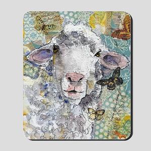 White Sheep Mousepad