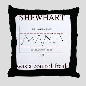 Shewhart Throw Pillow