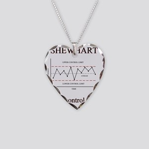 Shewhart Necklace Heart Charm