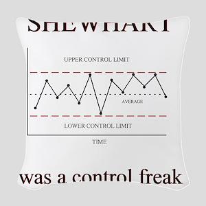 Shewhart Woven Throw Pillow