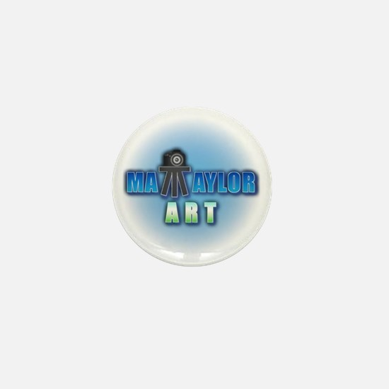 Matt Taylor Art Logo Mini Button