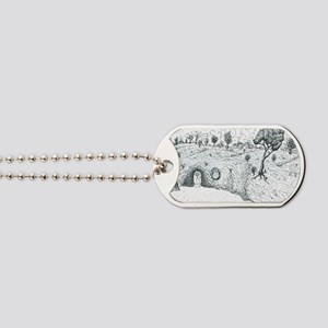House in the hill Dog Tags