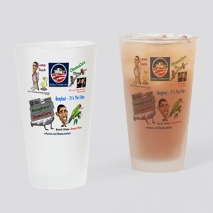Collage Drinking Glass