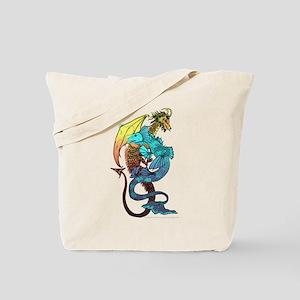 Elemental Dragons Colour Tote Bag