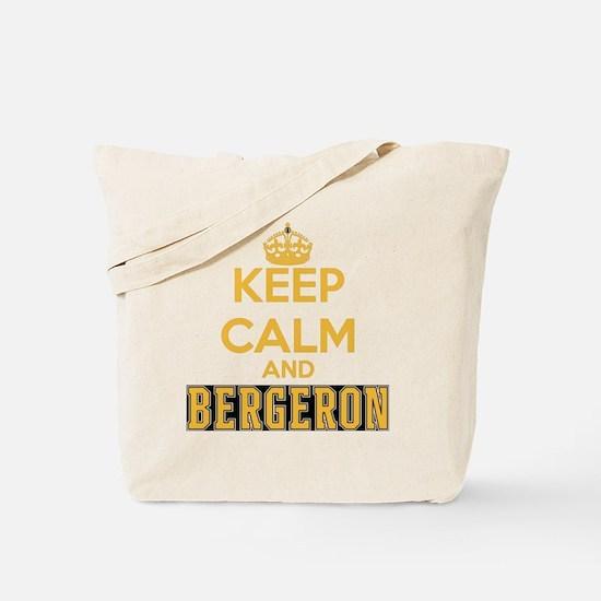 Keep Calm and Bergeron Tee Tote Bag