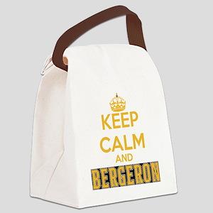 Keep Calm and Bergeron Tee Canvas Lunch Bag
