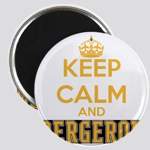 Keep Calm and Bergeron Tee Magnet