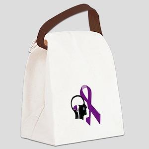 misunderstood.suffering.dark Canvas Lunch Bag