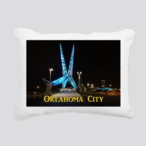 OklahomaCity_11x9_Calend Rectangular Canvas Pillow
