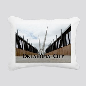 OklahomaCity_18.8x12.6_S Rectangular Canvas Pillow