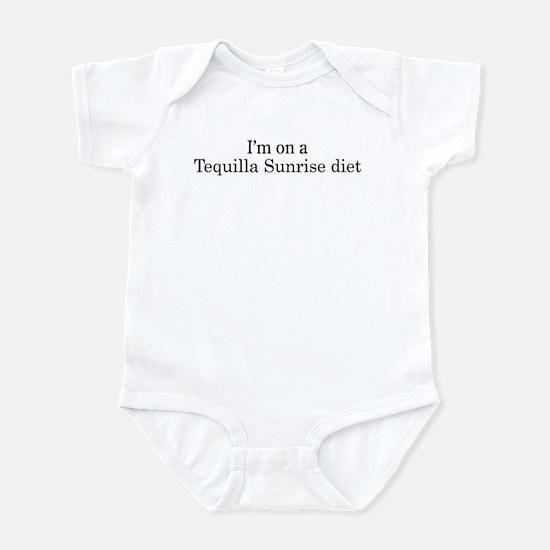 Tequilla Sunrise diet Infant Bodysuit