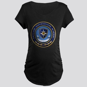 Defense Information School  Maternity Dark T-Shirt