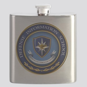 Defense Information School Clasic Flask