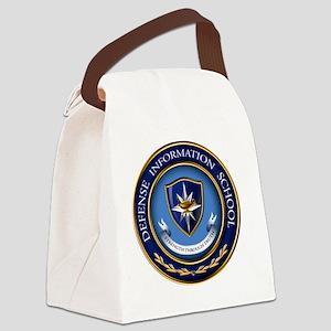 DINFOS Logo Canvas Lunch Bag