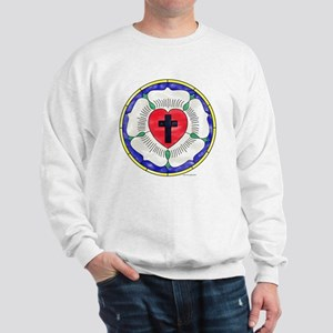 Luther Seal Stained Glass Motif Sweatshirt