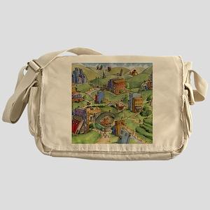 The Land of Books Messenger Bag