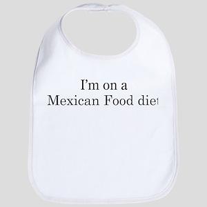 Mexican Food diet Bib