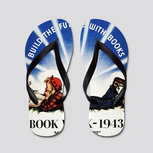 1943 Childrens Book Week Flip Flops