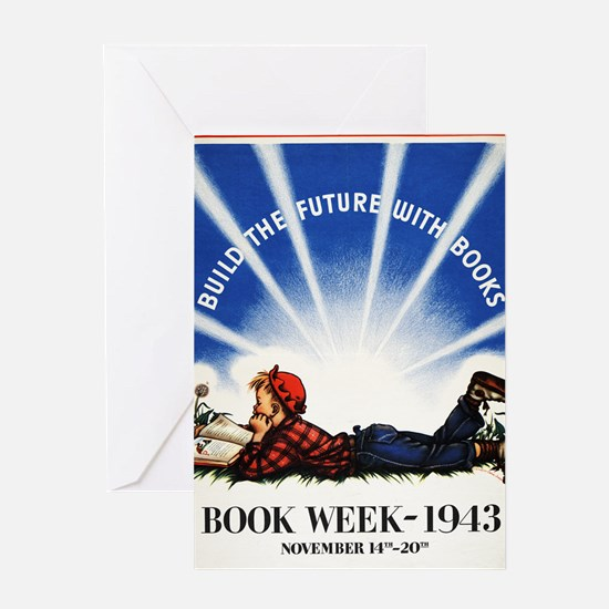 1943 Childrens Book Week Greeting Card