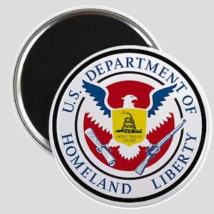 Department of Homeland Liberty Magnet