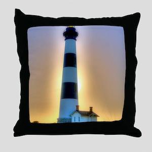 Lighthouse 01 Throw Pillow