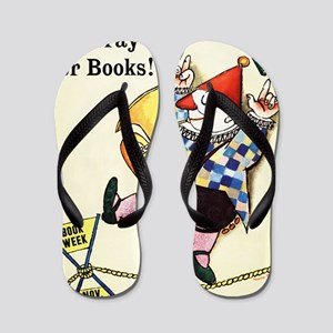 1960 Childrens Book Week Flip Flops