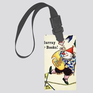 1960 Childrens Book Week Large Luggage Tag