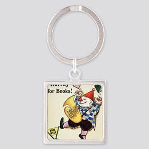 1960 Childrens Book Week Square Keychain