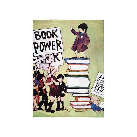 1969 Childrens Book Week 5'x7'Area Rug