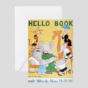 1978 Childrens Book Week Greeting Card