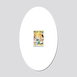 1978 Childrens Book Week 20x12 Oval Wall Decal