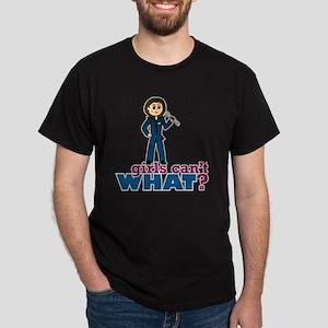 Woman Mechanic Dark T-Shirt