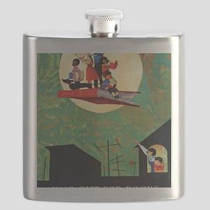 1965 Childrens Book Week Flask