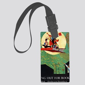 1965 Childrens Book Week Large Luggage Tag