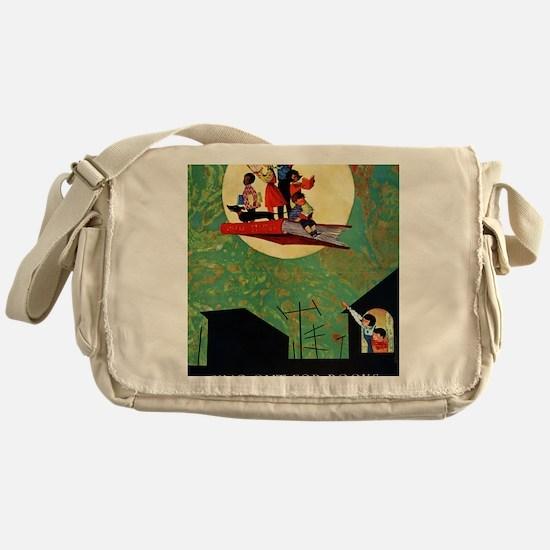 1965 Childrens Book Week Messenger Bag