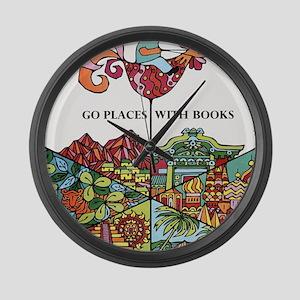 1968 Childrens Book Week Large Wall Clock