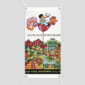 1968 Childrens Book Week Banner