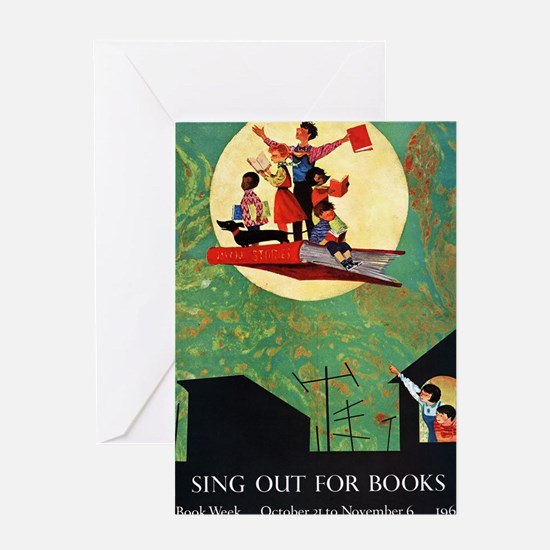 1965 Childrens Book Week Greeting Card