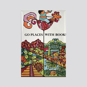1968 Childrens Book Week Rectangle Magnet