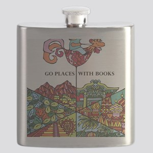 1968 Childrens Book Week Flask