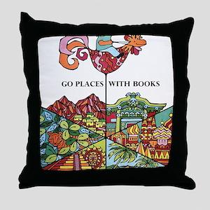 1968 Childrens Book Week Throw Pillow