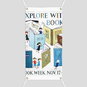 1957 Childrens Book Week Banner