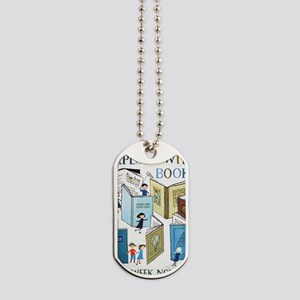 1957 Childrens Book Week Dog Tags