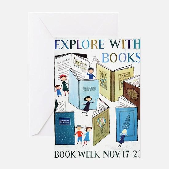 1957 Childrens Book Week Greeting Card