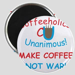 CU Coffee Not War Magnet
