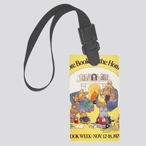 1979 Childrens Book Week Large Luggage Tag
