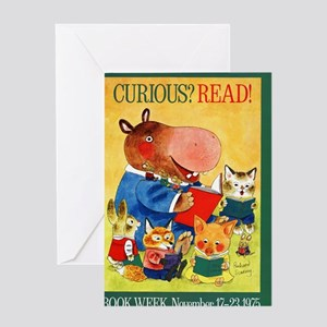 1975 Childrens Book Week Greeting Card