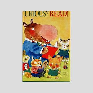1975 Childrens Book Week Rectangle Magnet