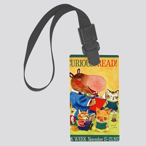 1975 Childrens Book Week Large Luggage Tag
