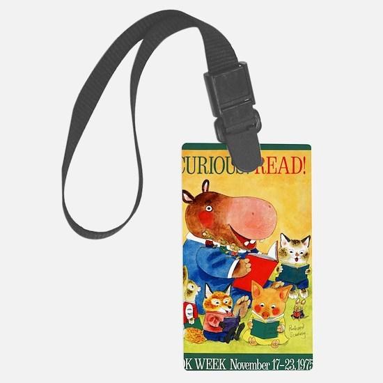 1975 Childrens Book Week Luggage Tag